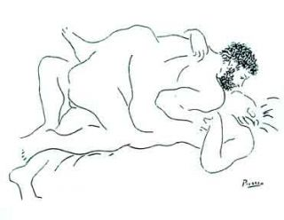 Couple Lying Down. Pablo Picasso