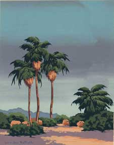 California Palms. Charles Worden Bethell
