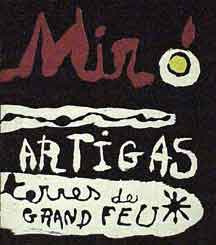 Sculpture in Ceramic by Miró and Artigas. Rosamond Bernier, Joan Mir&oacute