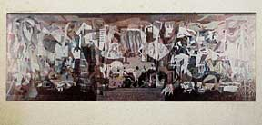 Photograph of Mural for the Mayo Clinic, Rochester, Minnesota. Millard Sheets