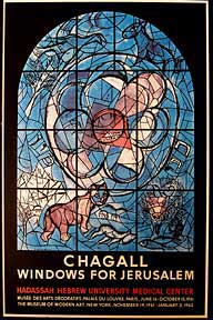 Windows for Jerusalem. Marc Chagall