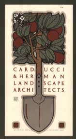 Carducci & Herman. Landscape Architects. David Lance Goines