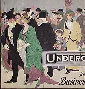 Underground. For Business or Pleasure. F. C. Witney