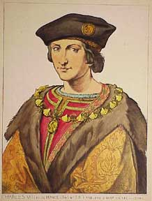 Charles VIII. Roi de France. 1494-98. French Artist