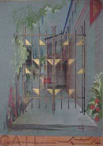 A Gate for a Designer's Residence. Victor Wayne Bowker