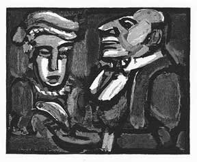 Two Figures. Georges Rouault
