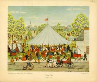 Country Lawn Party and County Fair. E. Melvin Bolstad