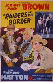 Raiders of the Border. Johnny Mack Brown