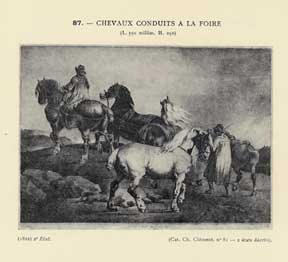Géricault. Le peintre-graveur illustré, Vol. XVIII. (Graphic Work. Catalogue Raisonné.). Loys...