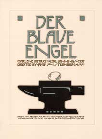 Der Blaue Engel. [The Blue Angel]. David Lance Goines