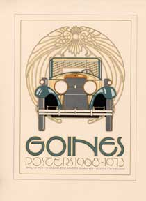 Goines (Exhibition at the Poster). David Lance Goines