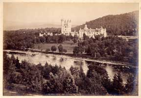 Balmoral Castle, from the River. G. W. Wilson