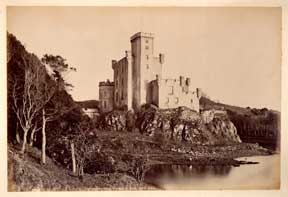Dunvegan Castle, from N.W. Skye. G. W. Wilson