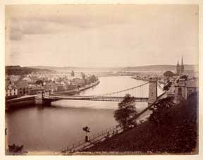 Inverness. From the Castle, Looking Down. James Valentine
