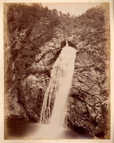 Falls of Foyers. James Valentine