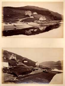 Strome Ferry Hotel, Loch Carron (two views). James Valentine
