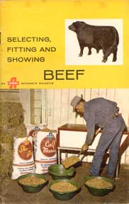 Selecting, Fitting and Showing Beef. Albers Milling Co