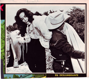"""En Deslumbrante."" Black & white still photographs from an unknown Mexican vaquero film"