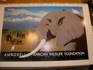 Ambosell. African Wildlife Foundation. [Elephant family]. Dan Gilbert