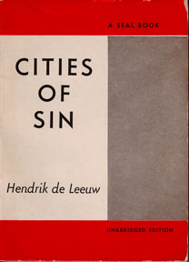 Cities of Sin. Hendrik de Leeuw