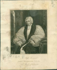 The Right Reverend John Buckner, L.L.D., Lord Bishop of Chichester. After unknown artist