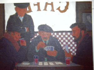 Card Players. John J. Payne