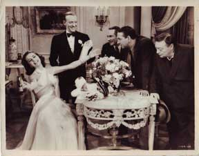 Fred Astaire, Cyd Charisse, Peter Lorre. and Janis Page in Silk Stockings (1957). Arthur Freed...