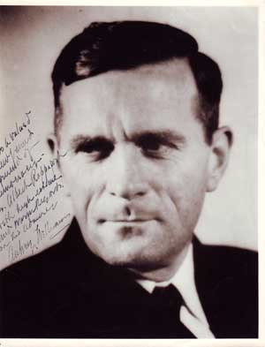 Autographed Photo portrait of Aubrey Willis Williams, PhD. Photographer