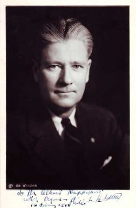 Autographed Photo portrait of Robert LaFollette. de Sharon