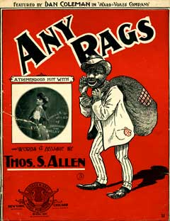Any Rags. Ernest Hogan, Billy Kersands