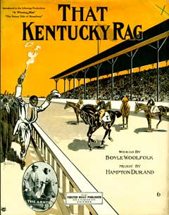 That Kentucky rag; A winning miss; The sunny side of Broadway. Boyle Woolfolk, Hampton Durand