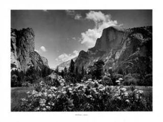 For Purple Mountains Majesty: A Pictorial Portfolio by Ansel Adams. Yosemite National Park,...