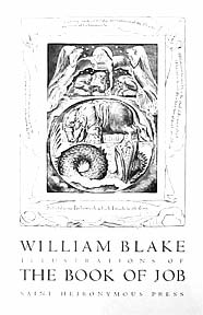 Illustrations of The Book of Job (David Goines after William Blake). William Blake, After