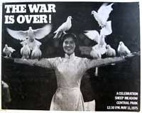The War is Over! A Celebration. Sheep Meadow. Central Park. 12:30 PM. May 11, 1975. [poster]....