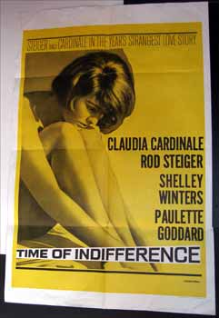 Time of Indifference. Claudia Cardinale, Rod Steiger