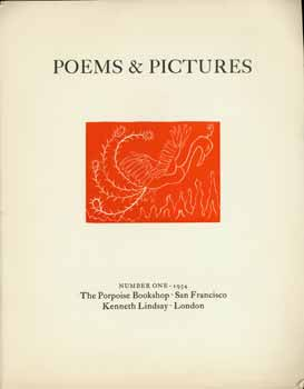 Poems & Pictures. Number One. Limited Edition on rag paper. Jess Collins, Cornel Lengyel, Jack...