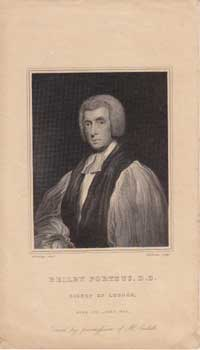 Beilby Porteus (1731-1809), Bishop of London. T. A. Dean, after Henry Edridge