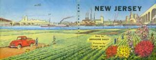 Picture Book of New Jersey (dust jacket only). Bernadine Bailey, Kurt Wiese