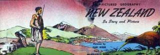 New Zealand in Story and Pictures (dust jacket only). Marguerite Henry, Kurt Wiese