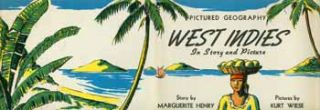 West Indies in Story and Pictures (dust jacket only). Marguerite Henry, Kurt Wiese
