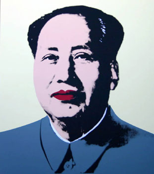 Mao in Yellow. Andy Warhol, After