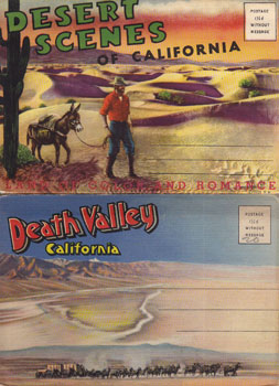 Death Valley, California and Desert Scenes of California. Western Pub., Novelty Co, Calif Los...