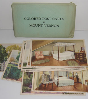 Colored Post Cards of Mount Vernon.