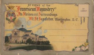 20 Views of the Franciscan Monastery, Its Shrines and Surroundings, Mt. St. Sepulchre,...
