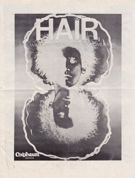 Hair: The American Tribal-Love Rock Musical, at the Orpheum Theater. Michael Butler
