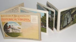 Souvenir of Beautiful and Historical Virginia. Joseph Kaufmann, Curt Teich, Co, Ill Chicago