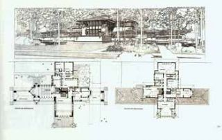 Ward W. Willett's (Willitt's) ground plan and perspective of villa. Highland Park. Illinois....