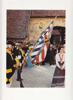 Château du Clos de Vougeot U.S. Bicentennial Celebration. Menu cover for the Confrérie des...