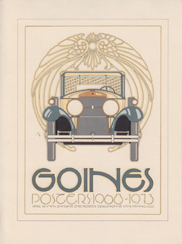 Goines. Posters: 1968-1973 [miniature poster]. David Lance Goines