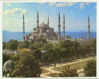 [Blue Mosque And Hippodrome, Istanbul, Turkey].